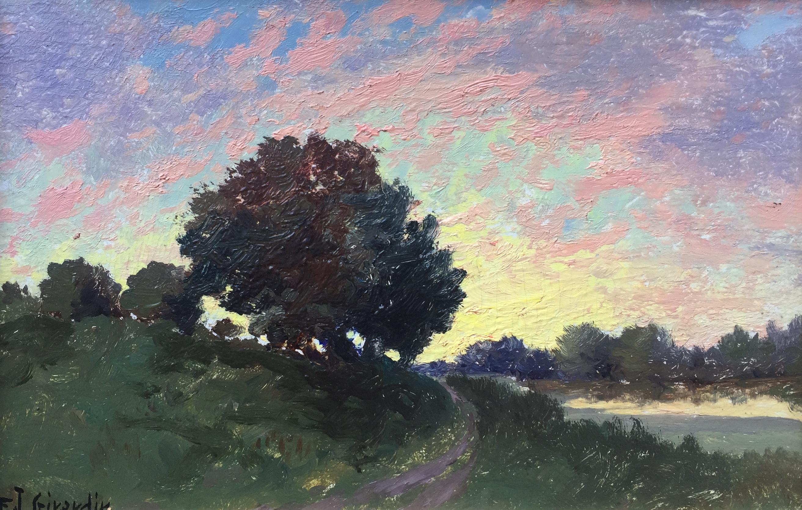 Summer Sunset, Indiana
