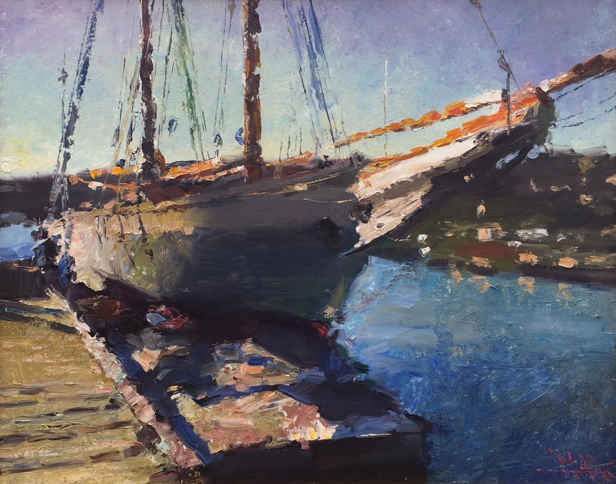 The 'Mary Day,' Camden Harbor