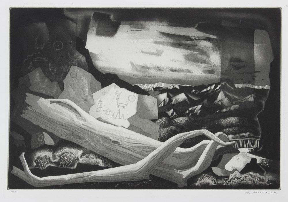 Pictographs and Landscape, 11/25