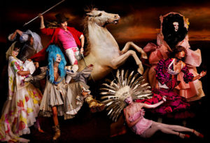 Galliano Royal No. 9, 10 Years of Dior Haute Couture C-print by fine art photographer Simon Procter