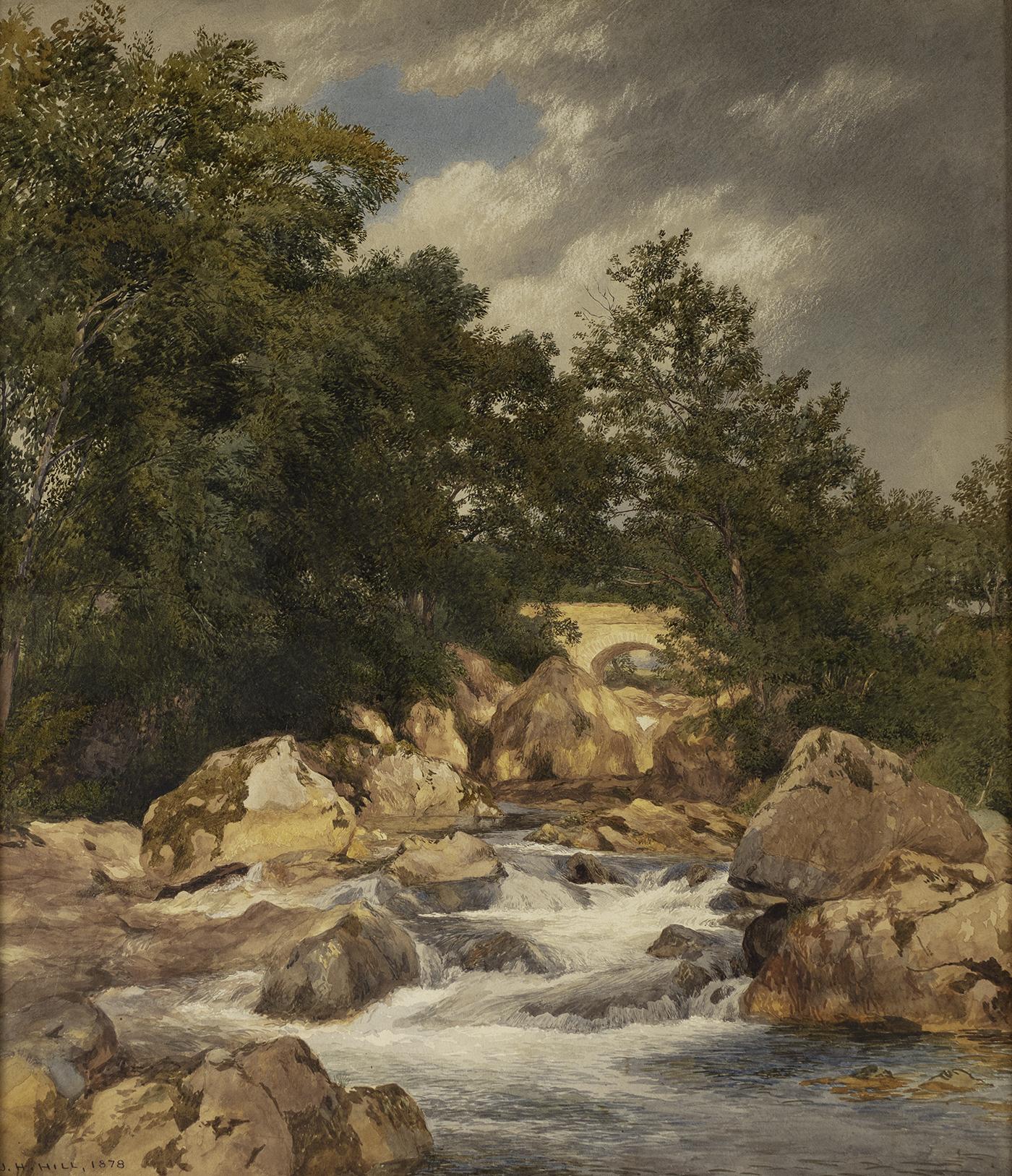 Bridge and Stream