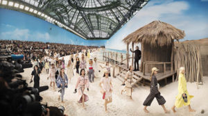 Image of Simon Procter's Chanel, Spring/Summer 2019 Fashion Show at The Grand Palais, Paris