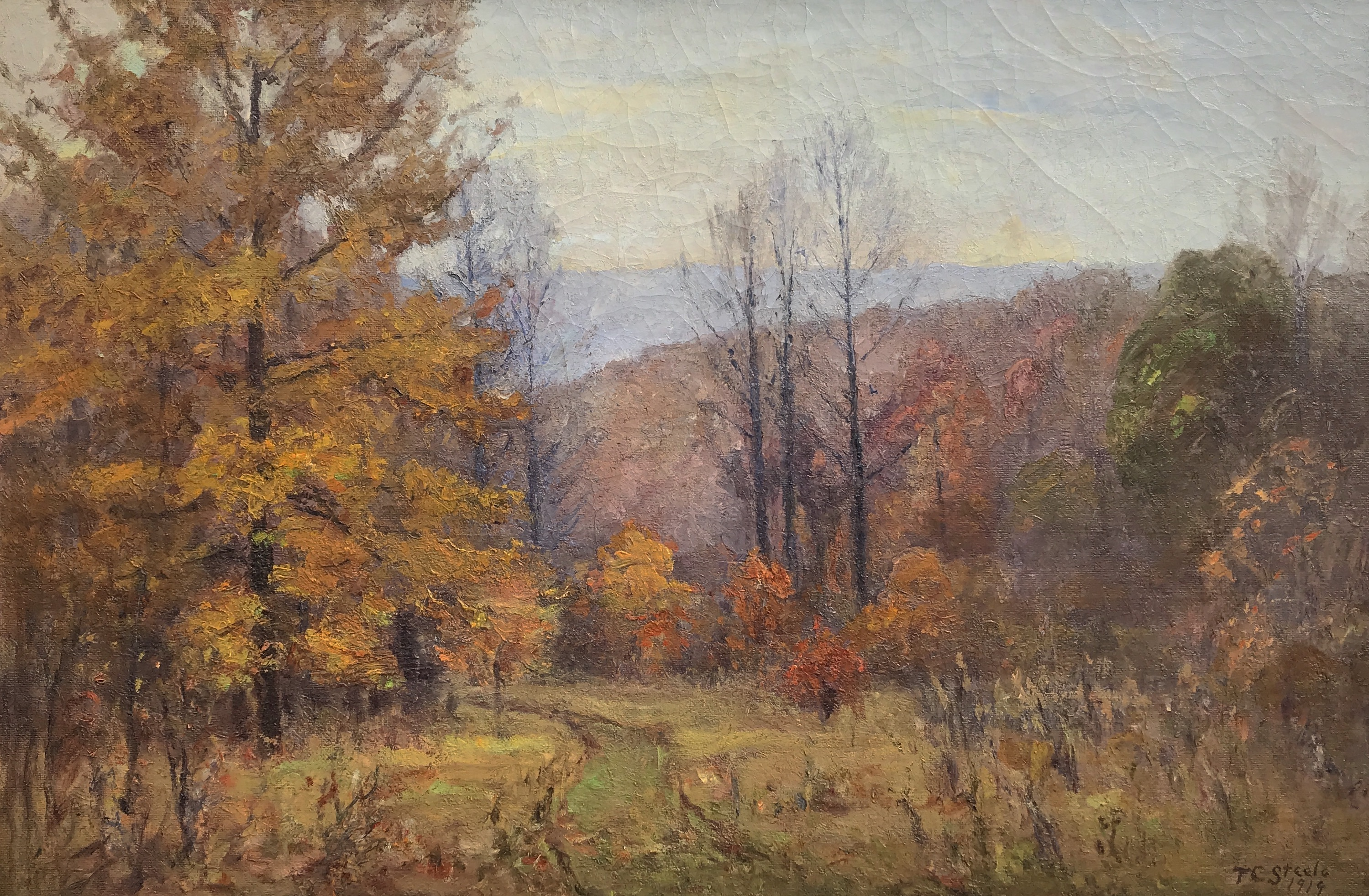 Steele-Autumn in the Hills-cropped