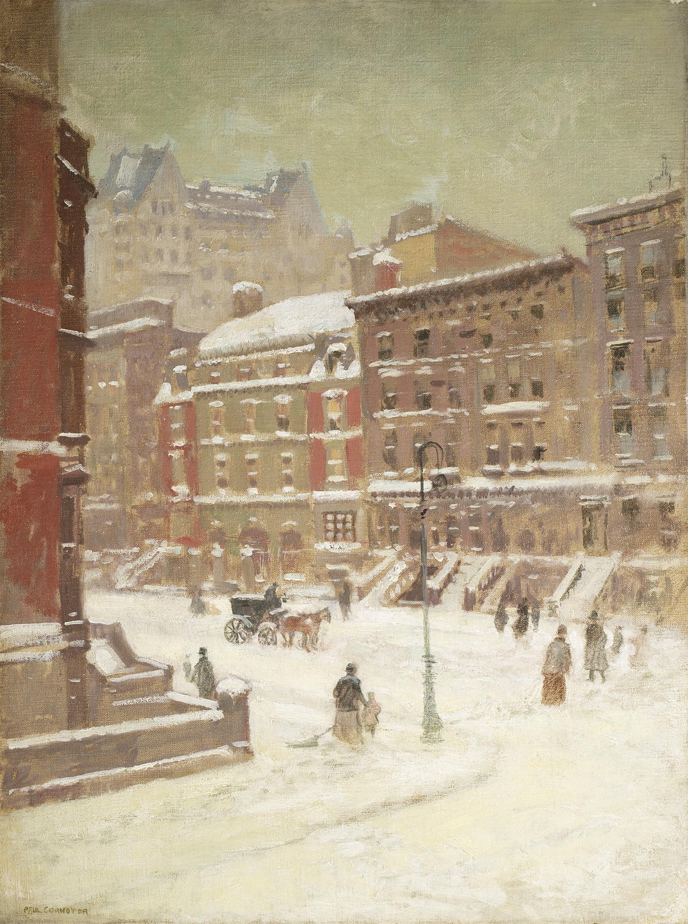 Cornoyer-New York City View in Winter