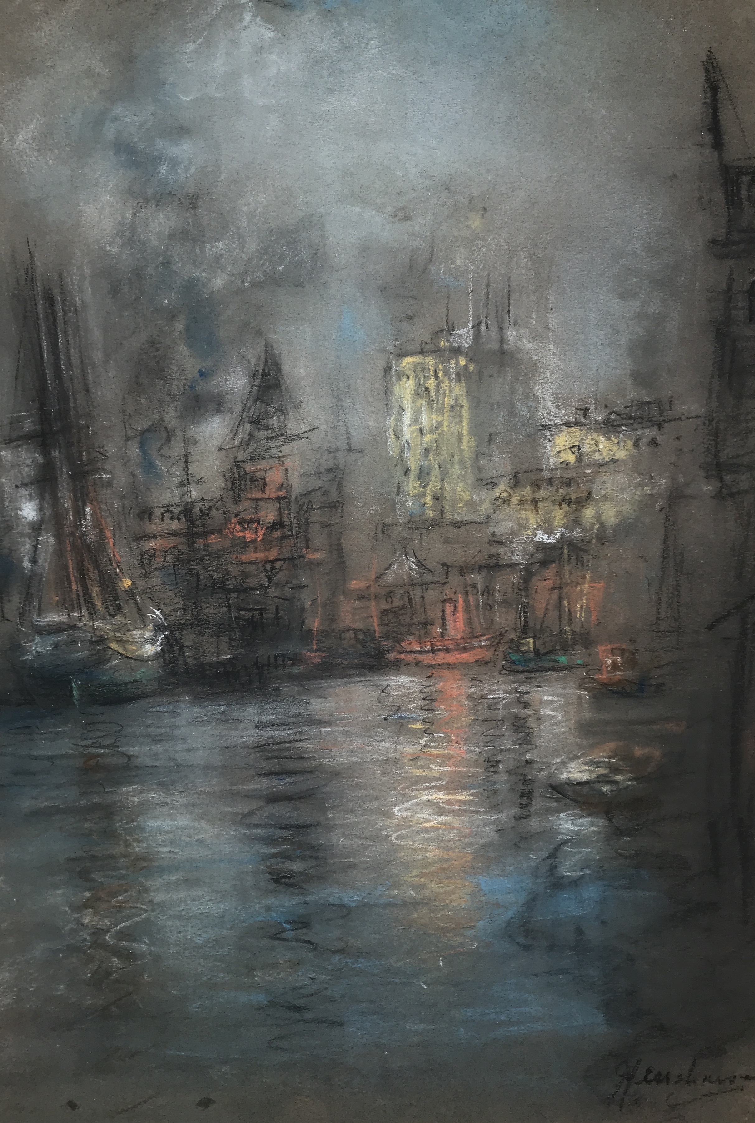 Henshaw-1-Busy Harbor-cropped