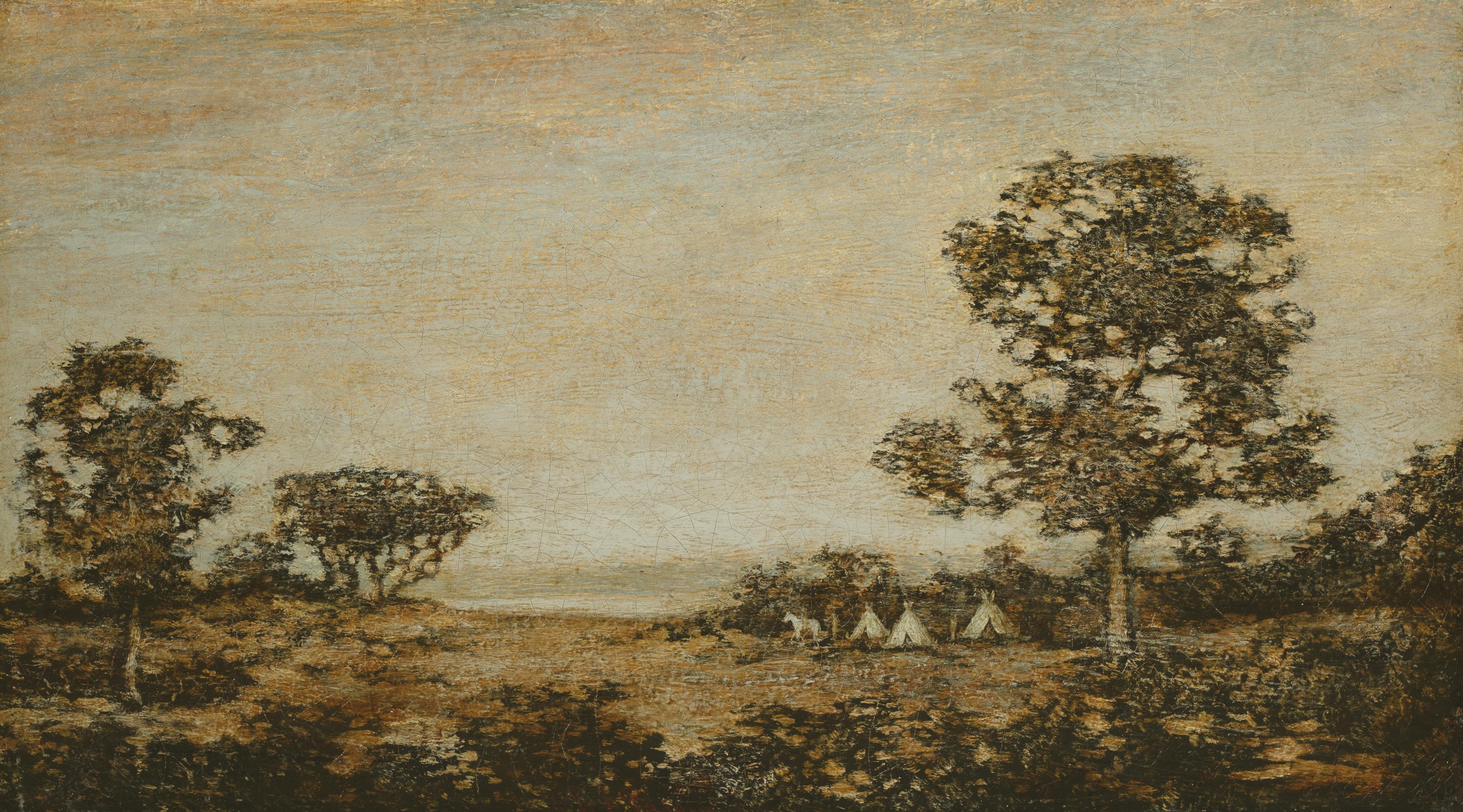 Blakelock Western Encampment