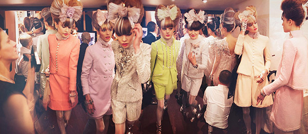 Chanel Cambon, Haute Couture 2010, Rue Cambon, Paris C-print by artist Simon Procter