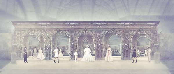 Chanel Garden, Haute Couture Spring Summer 2019, Le Grand Palais, Paris C-print by Simon Procter