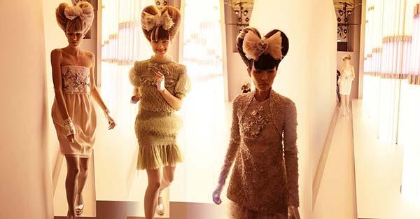 Chanel Memory, Haute Couture 2010, Rue Cambon, Paris C-print by artist Simon Procter