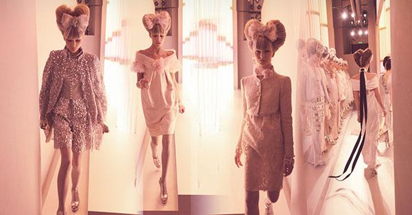 Chanel Memory (Version Two), Haute Couture 2010, Rue Cambon, Paris C-print by artist Simon Procter