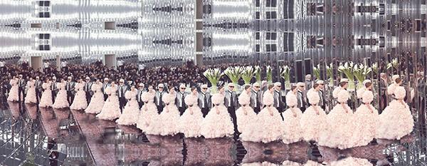 Chanel Thousand, Haute Couture Spring Summer 2017, Le Grand Palais, Paris C-print by artist Simon Procter