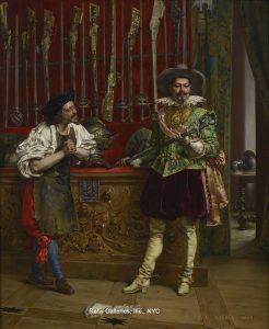 Adolphe Lesrel - A New Sword