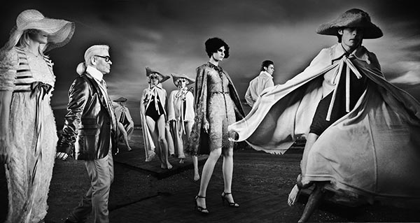 """Chanel Lido, Cruise Collection 2010, Venice, Italy"" C-print by fine art photographer Simon Procter"