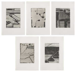 Richard Diebenkorn Print Porfolio Black and White